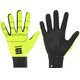 Sportful Lycra Race Gloves yellow fluo/black